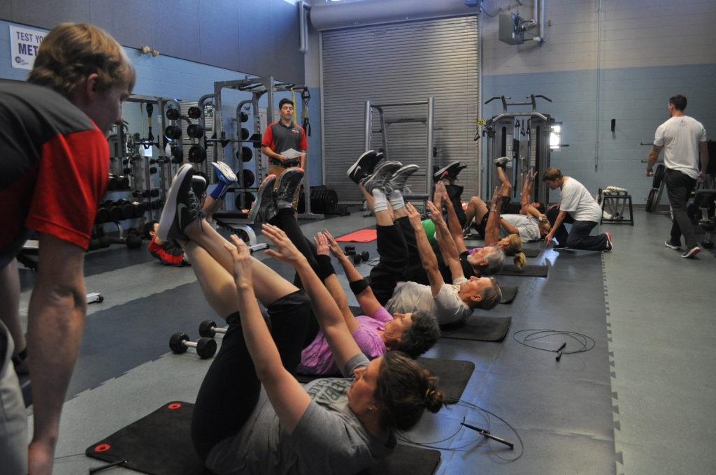 Fitness Center Group Class
