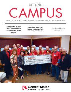October 2018 Around Campus Cover