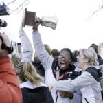 CMCC returns to Auburn with national championship trophy • Sun Journal • Daryn Slover