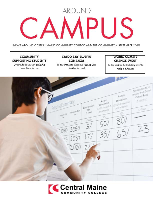 Around Campus Newsletter cover September 2019