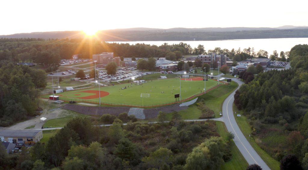 Sunset over CMCC Campus