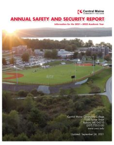 2021-22CMCC Clery Report Cover Image